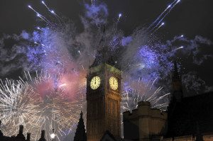 Fireowrks and Big Ben_Getty
