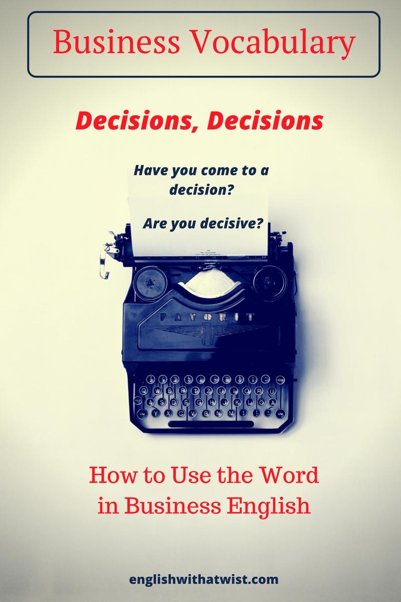 business-vocabulary-decisions