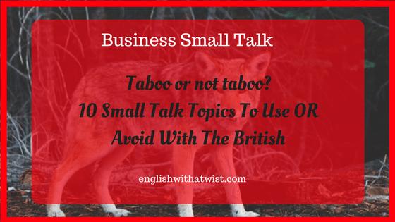 talk on topics