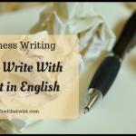 How To Write With Impact in English