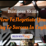 Negotiate your way to success in English.