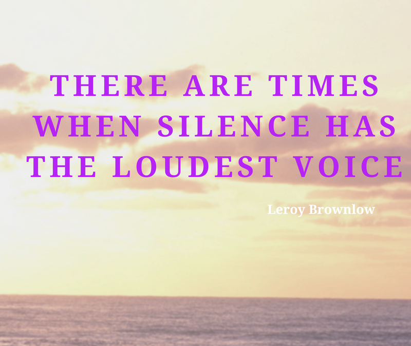 Business Skills: 8 Reasons Why Silence Is Golden When Presenting